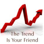 The trend is your friend forex