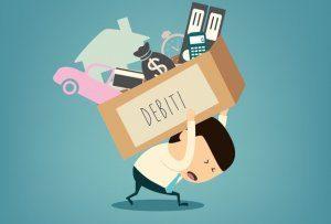 Peso dei debiti