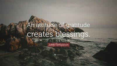Vivere nella Gratitudine
