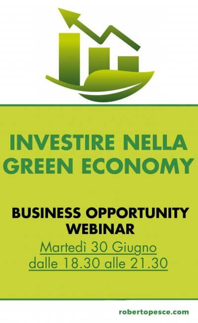 investire green economy