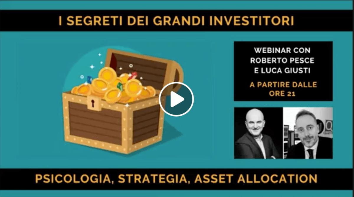 Segreti dei grandi investitori